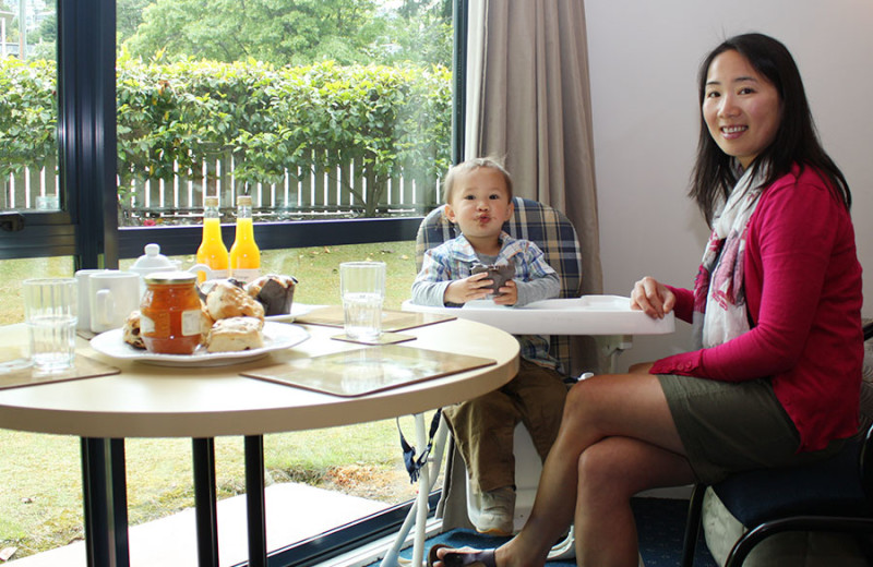 Family at Blue Peaks Luxury Apartments & Motor Lodge Queenstown.