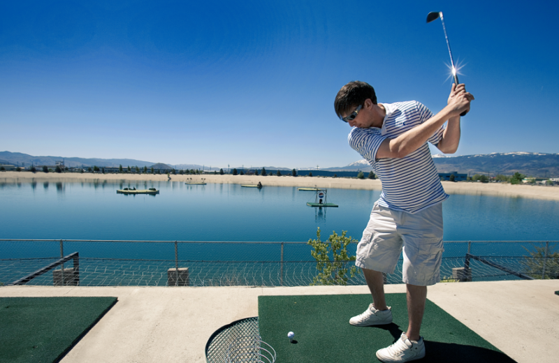 Golf at Grand Sierra Resort and Casino.