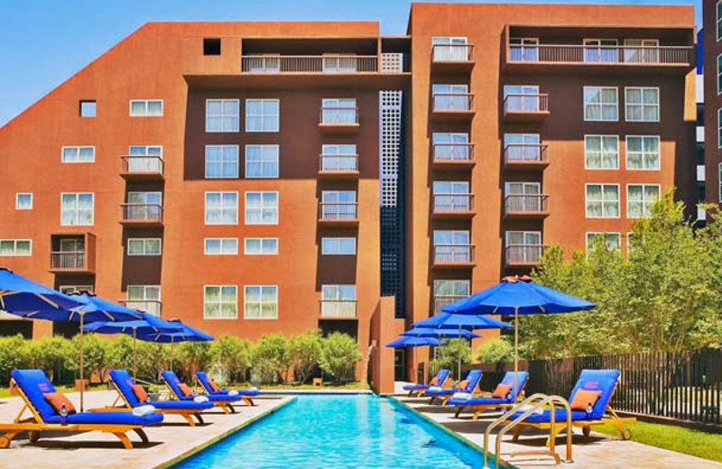 Outdoor pool at Dallas/Fort Worth Marriott Solana.