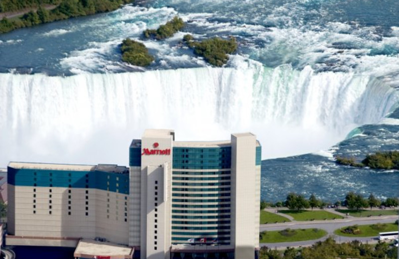 Welcome to the Marriott Niagara Falls Fallsview Hotel & Spa