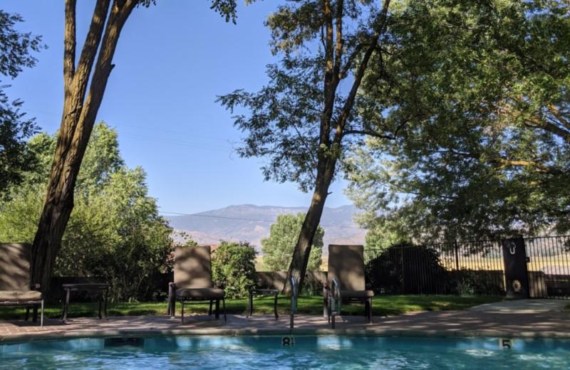 Outdoor pool at Rankin Ranch.