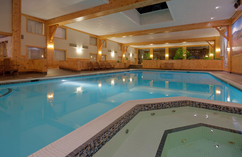 Indoor Pool at the Crowne Plaza Resort & Golf Club