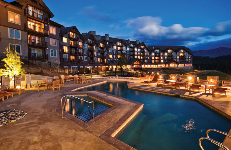 Exterior view of Suncadia Resort.