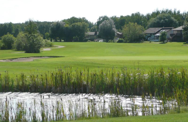Golf course at Good Spirit Golf Resort.