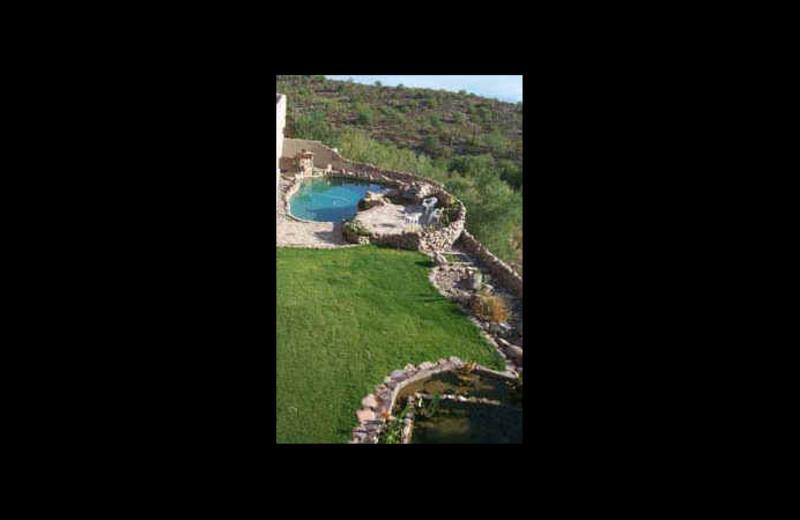 Outdoor pool at Bedlam Bed & Breakfast.
