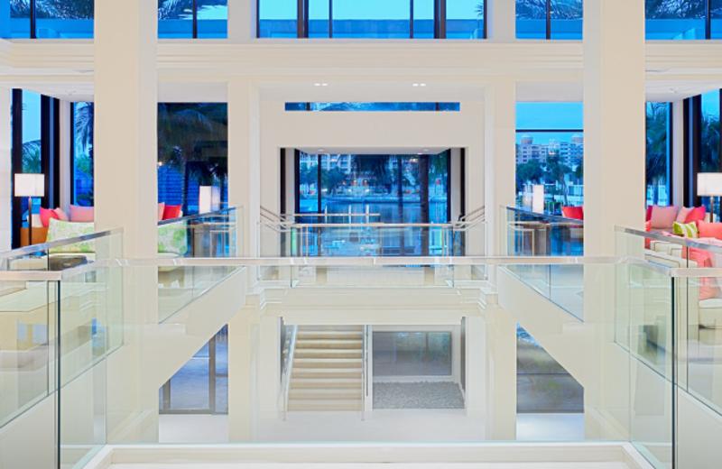 Lobby at Hyatt Regency Sarasota