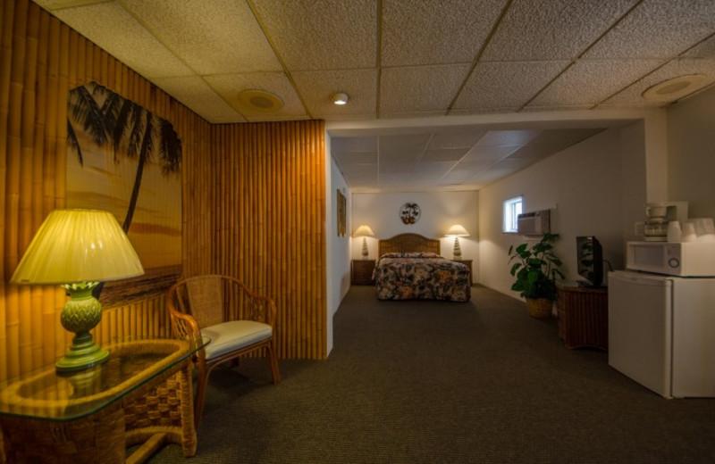 Guest room at Waikiki Oceanfront Inn.