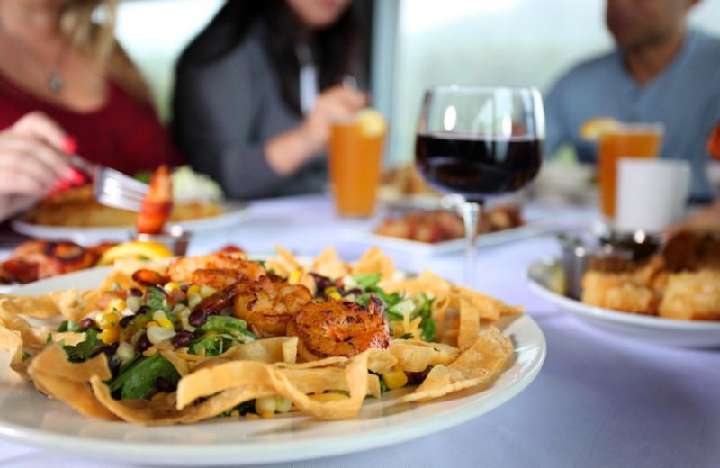 Dining at Surfrider Resort.