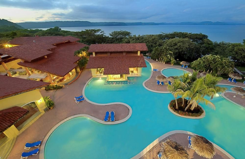 Outdoor pool at Allegro Resort Papagayo Hotel.