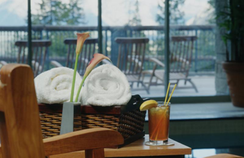Spa Amenities at The Rimrock Resort Hotel