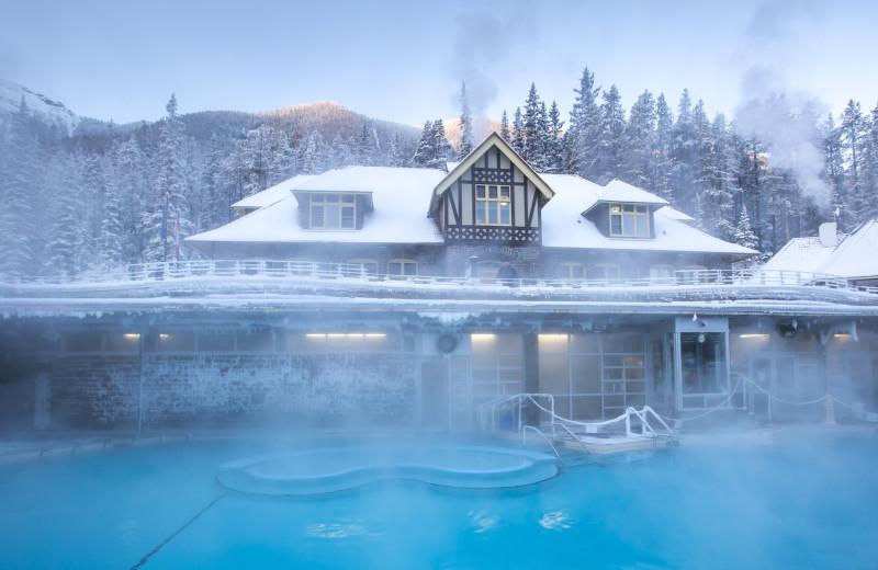Hot spring near Banff Caribou Lodge & Spa.