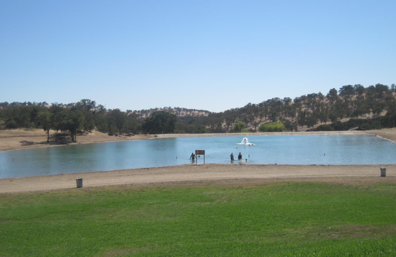 View of lake at Lake Don Pedro.