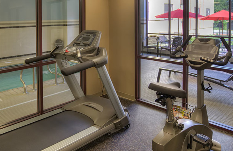 Fitness Room at The Hotel Warner