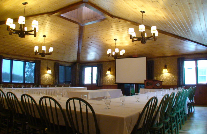 Meetings at Severn Lodge.
