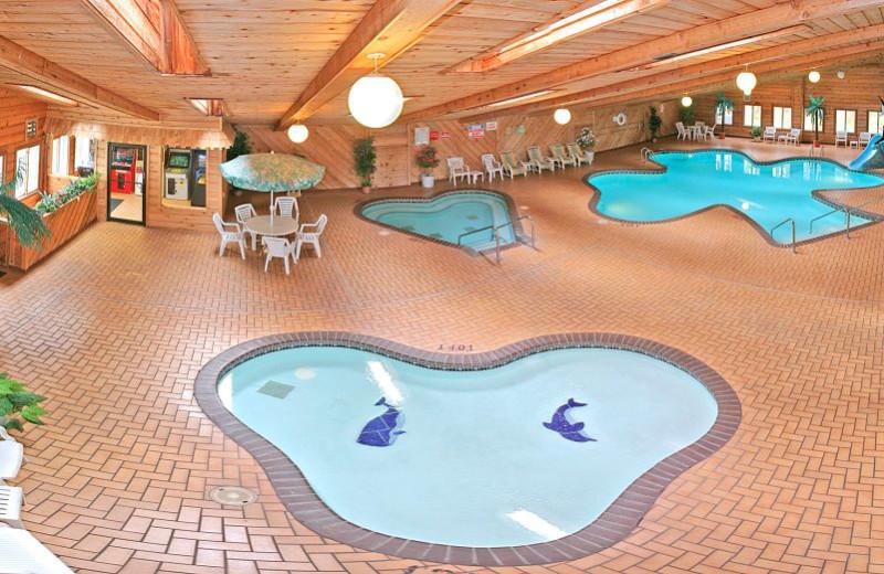 Indoor Pools at the Shamrock Motel Resort & Suites
