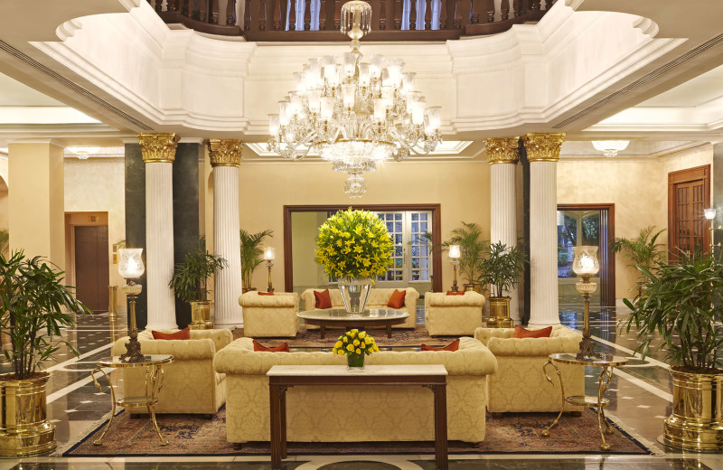Lobby at The Oberoi Grand.