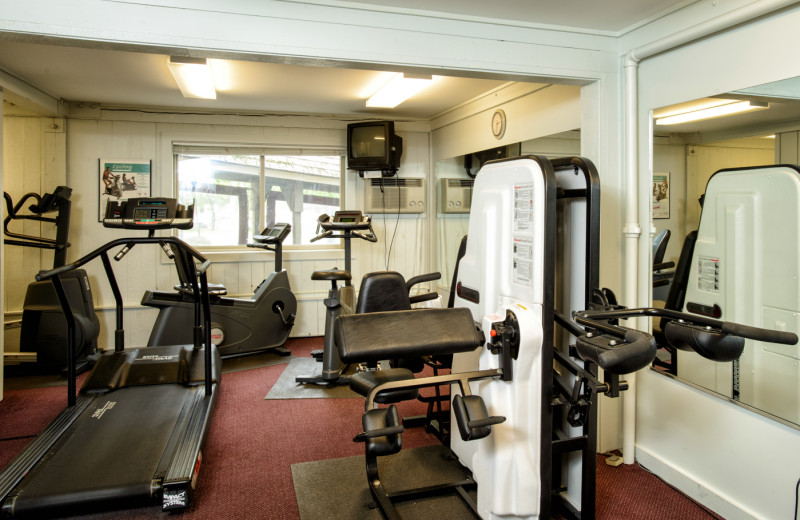 Fitness room at Snowy Owl Inn and Resort.