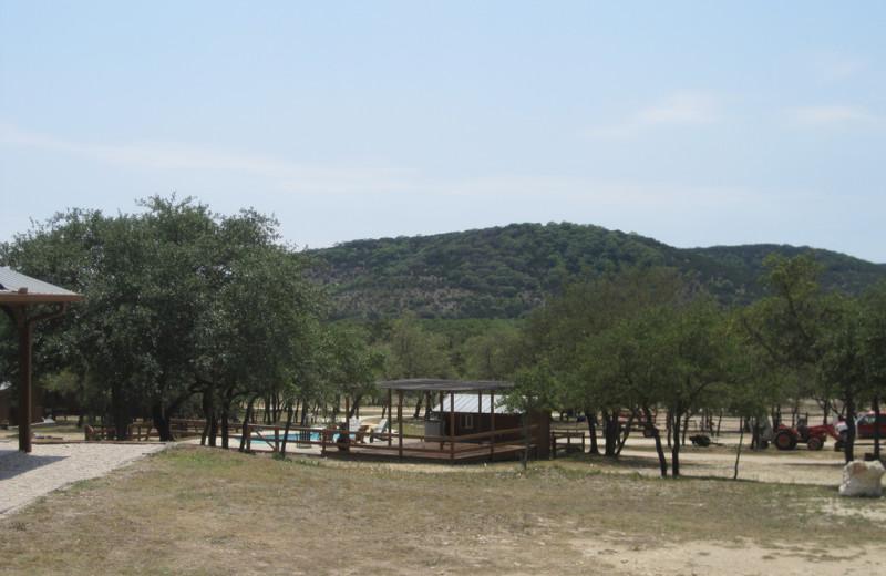 Exterior view of Rancho Cortez.