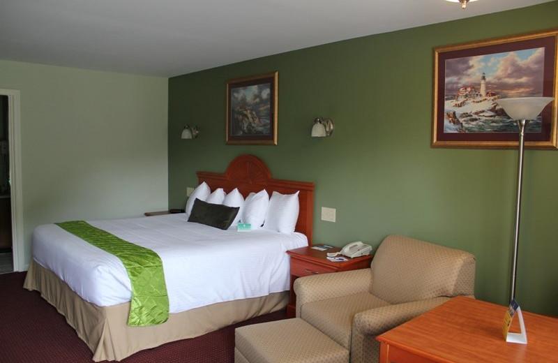 Guest room at Best Western Acadia Park Inn.