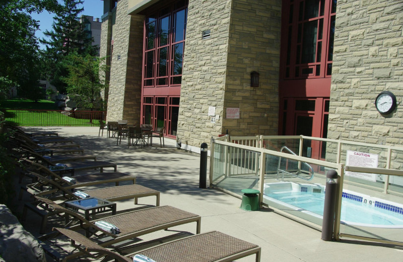 Outdoor pool at DoubleTree Fallsview Resort & Spa by Hilton - Niagara Falls.