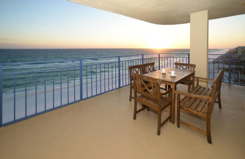 Balcony at Nautilus Condominiums.