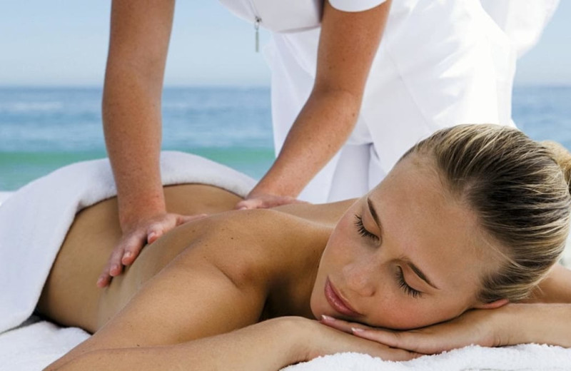 Spa treatment at Paradise Island Beach Club.