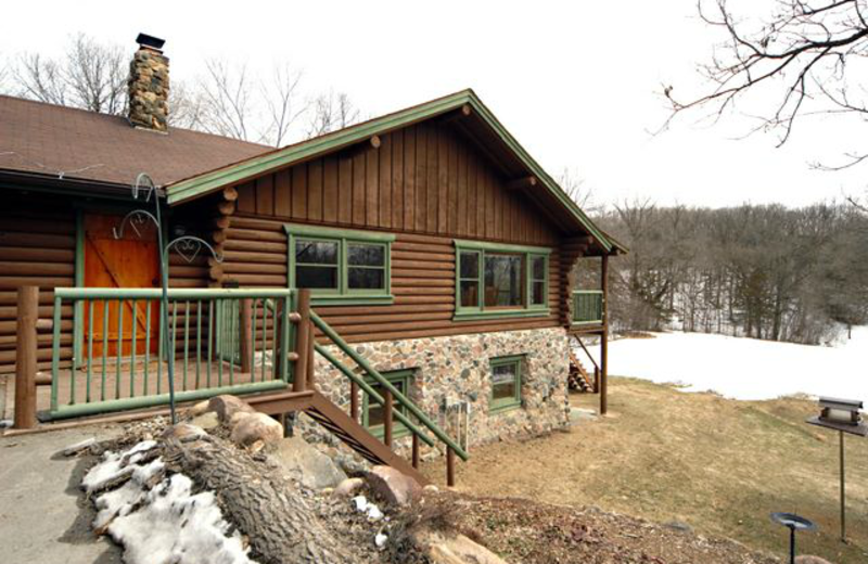 Cottage exterior view at Grand Cottages.