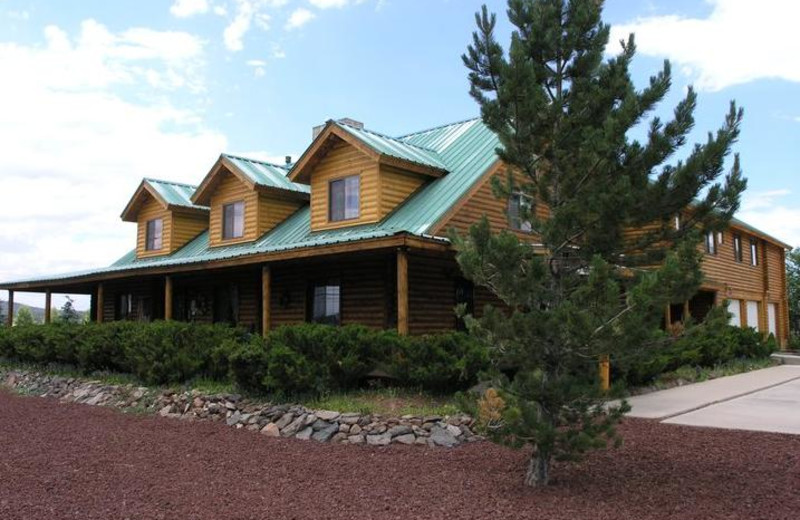 Exterior view of Grand Living Bed & Breakfast.