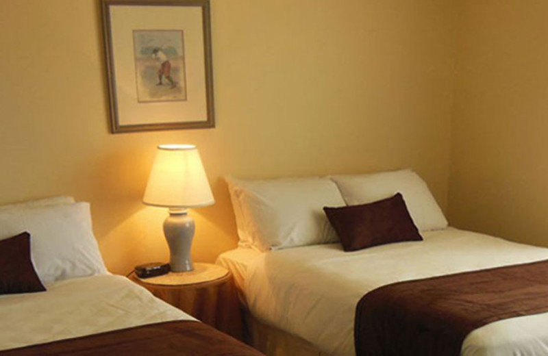 Guest room at Beau Rivage Golf and Resort.