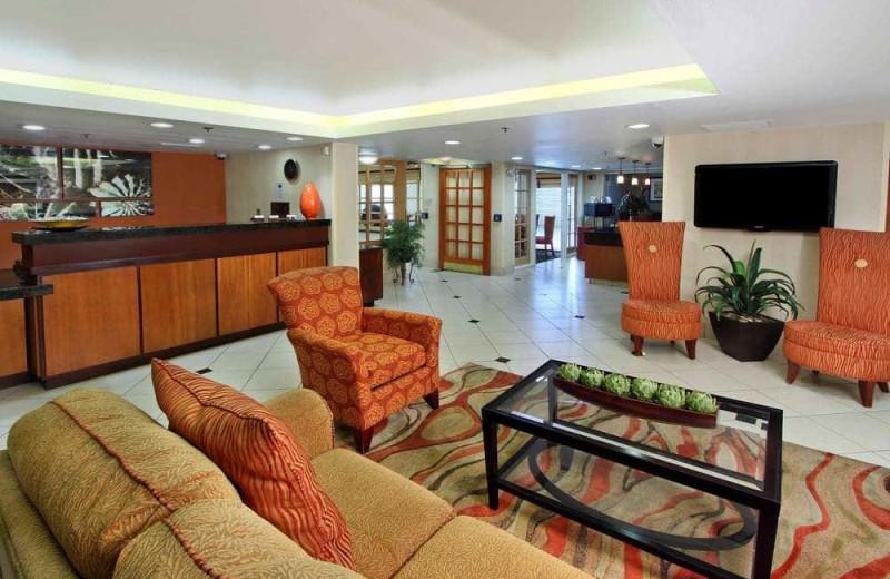 Lobby at Fairfield Inn Scottsdale North.
