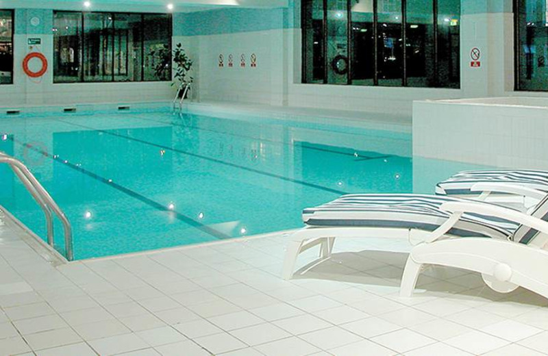 Indoor pool at Bosworth Hall Hotel.