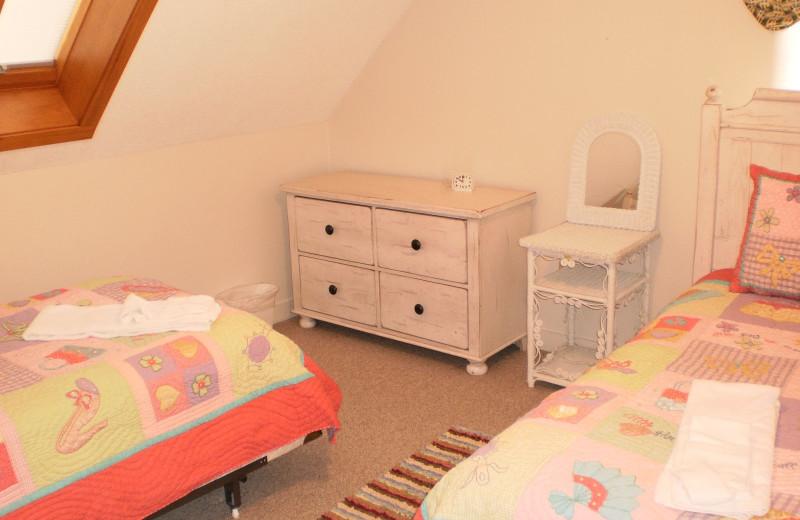 Kid's bedroom at Village Condominium.