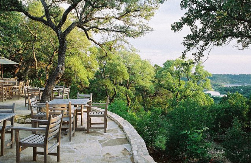 Beautiful scenery at Travaasa Austin.