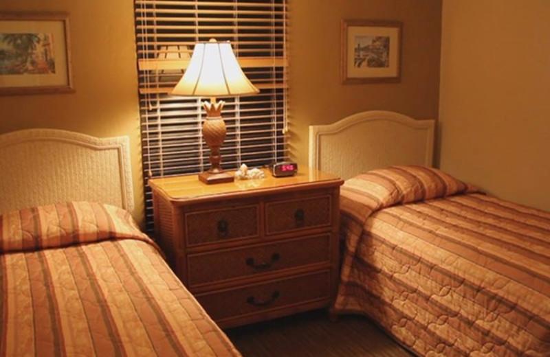 Guest room at Eagle's Nest Resort.
