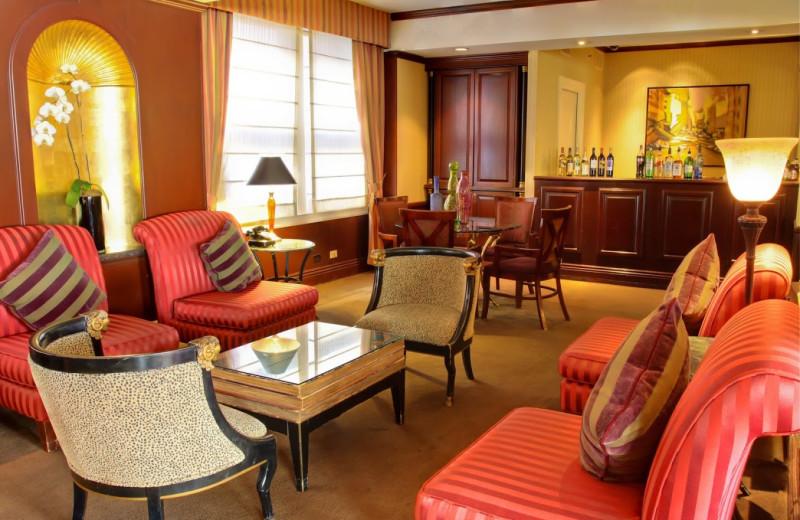 Lobby view at Prescott Hotel.