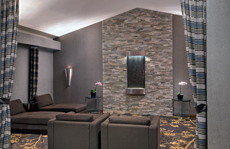 Spa lobby at Eaglewood Resort & Spa.