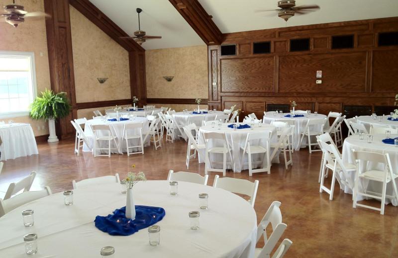 Ballroom at Lillian Farms Bed & Breakfast.