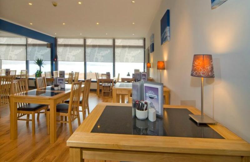 Guest room at Loch Melfort Hotel.