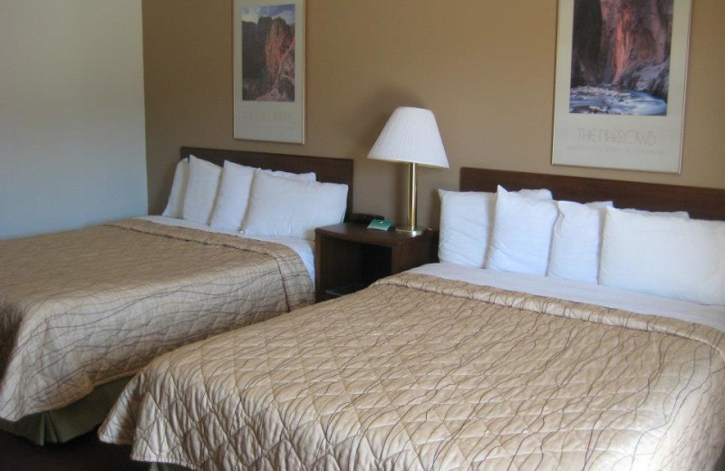 Double guest room at Bumbleberry Inn.