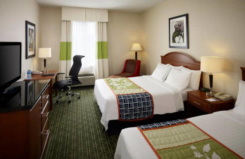 Guest Room at the Fairfield Inn Toronto Oakville