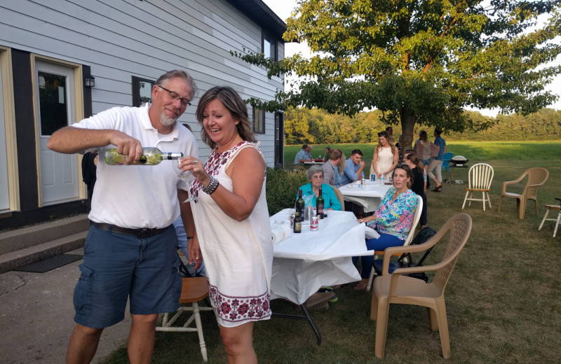 Families and large groups love the Hop & Vine Inn in Southwest Michigan!