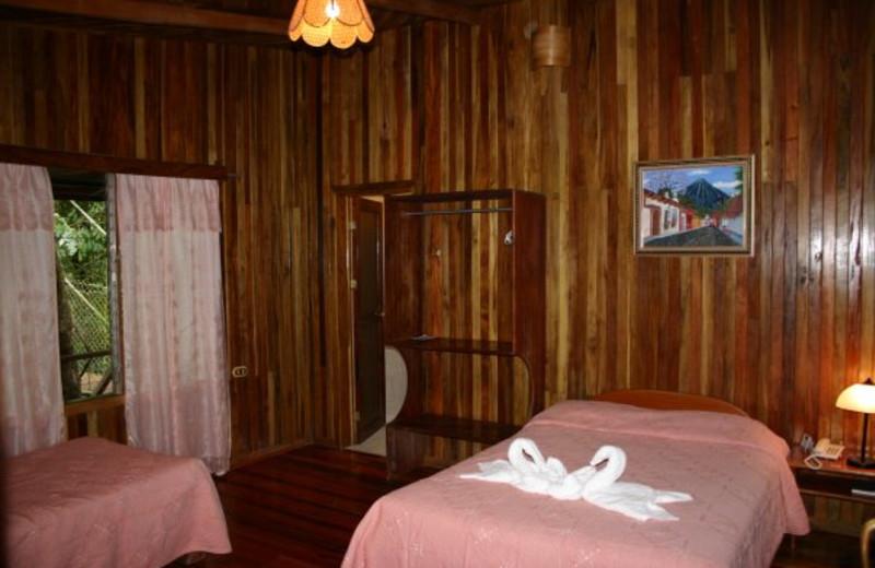 Guest room at Finca Valverde Hotel.