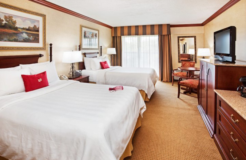 Guest Room at the Crowne Plaza Resort Asheville