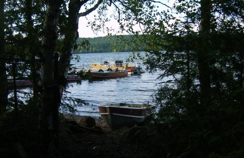 Lake view at Trout Lake Resort.