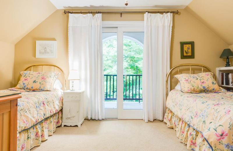 Rental bedroom at Team VP Vacation Rentals.