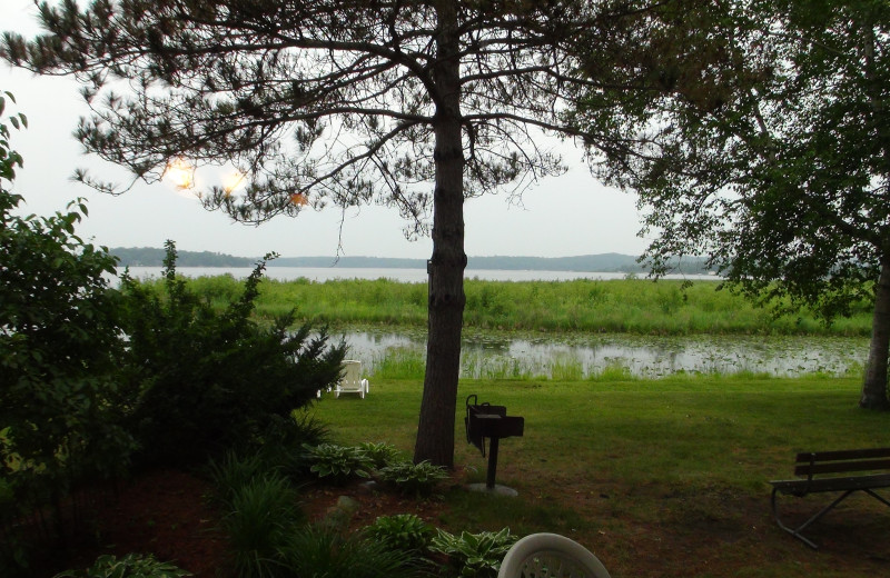 Lake view at Gull Lake Resort.