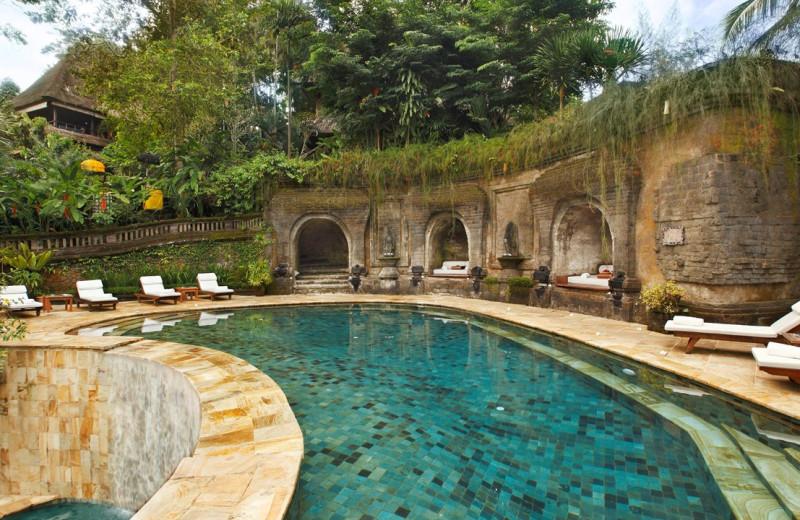 Outdoor pool at Ibah Luxury Villas.