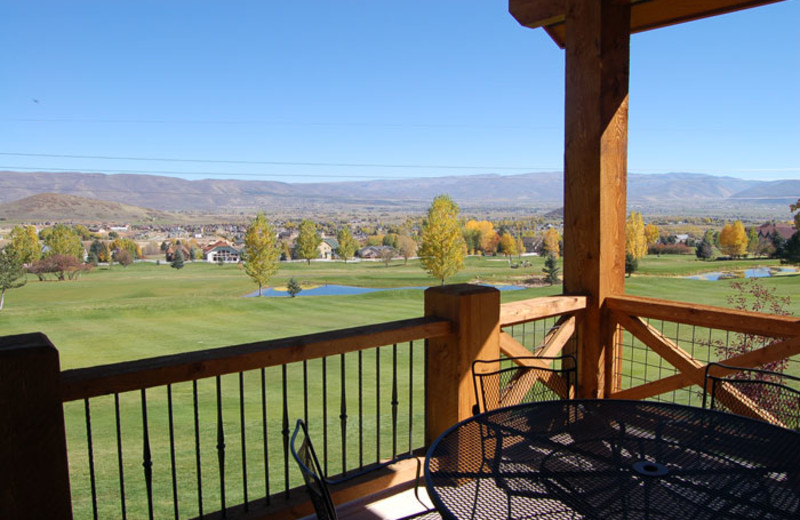 View from Utah Family Lodges.
