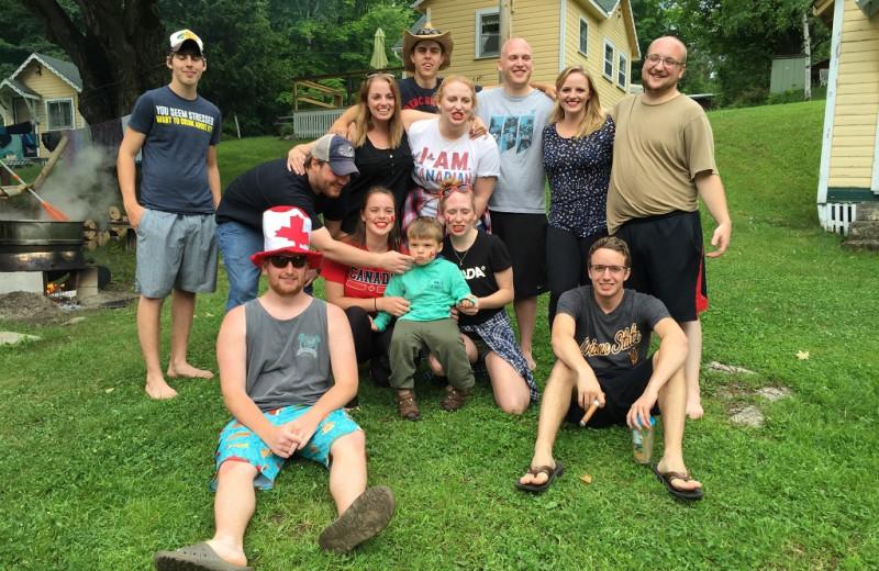 Reunions at Sandy Beach at Otter Lake.
