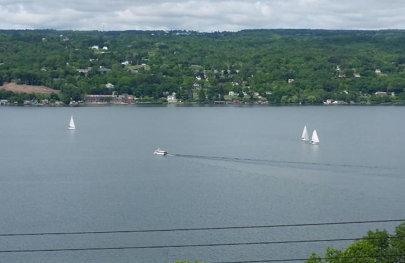 Lake view at Clifftop On Seneca.